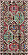 Kirman rug kit wool