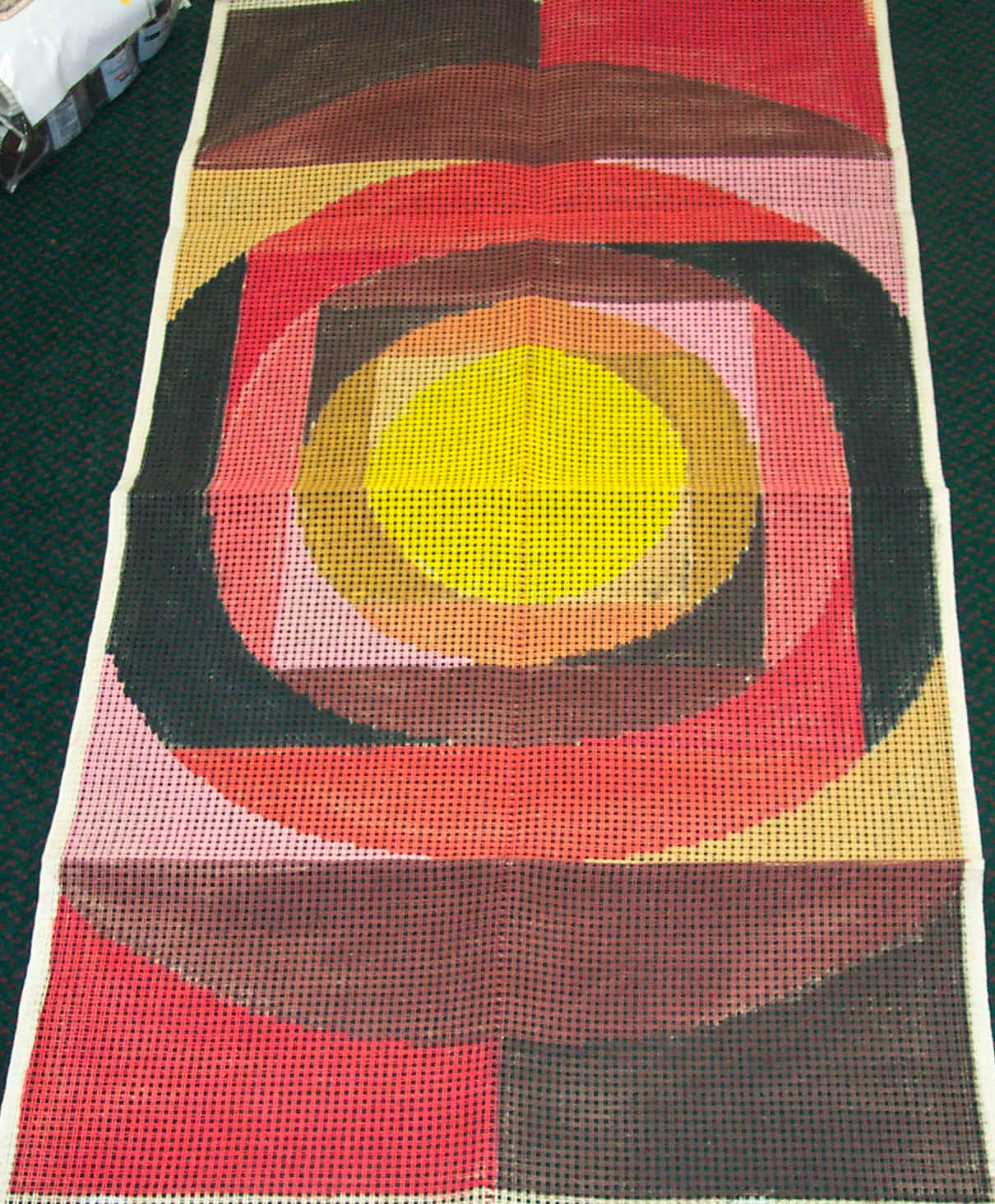Latch Hook rug canvas