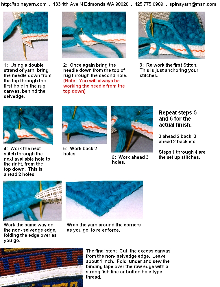 how to clean a latch hook rug